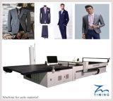 Cortadora automatizada de la tela de la ropa del CNC, base automática del corte del paño