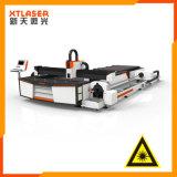 Tagliatrice quadrata rotonda del tubo del laser della fibra professionale cinese del tubo 500W
