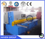 QC12k-12X2500 CNC Hydraulic Swing Beam Shearing e Cutting Machine