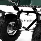 Aço resistente carro engrenado da ferramenta de jardim