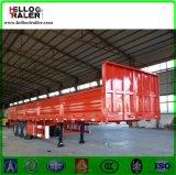 3 remorque de cargaison en bloc de la remorque 50t de camion de mur latéral d'essieux semi