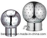 Esfera giratória sanitária da limpeza do fim da braçadeira