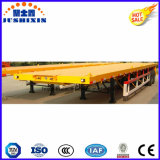 20FT 3 Flatbed Oplegger van de Container van de As Flatbed