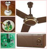 10 anni di vita di CA 220V dell'input di ventilatore di soffitto ricaricabile solare con il motore di BLDC
