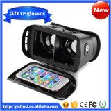 Caixa II de Vr da geração do cartão plástico da versão 1080P Google a realidade virtual de 2.0 vidros de Vr dos vidros 3D
