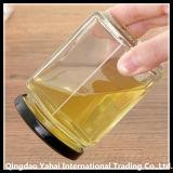280mlは彫面を切り出された瓶/ガラス蜂蜜の瓶を取り除く