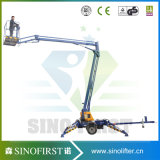 8m bis 14m Towable Lift Aerial Work Man Lift Platform
