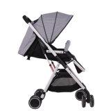 Quatre couleurs Aluminium Alliage Cadre Baby Carrier Paire de poussette parapluie