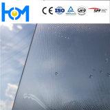 glas Lage van het Ijzer van de Deklaag van 2.5mm~4.0mm het anti-Weerspiegelende Zonne Aangemaakte (glas laag-e)
