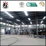 A fornalha da carbonização para ativa a planta do carbono