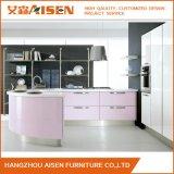 Module de cuisine à haute brillance économique de laque de modèle neuf de Hangzhou