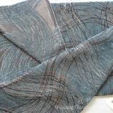 El llano teñió la tela 100% de Chenille del poliester para el sofá
