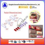 Empaquetadora del embalaje automático de la oblea de la galleta (bandeja-libre)