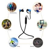 Esportes sem fio estereofónicos do esporte que funcionam o fone de ouvido de Bluetooth