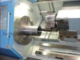 Mini máquina inclinada del torno del CNC de la base de Ck-40L con precio de fábrica