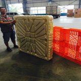 Grande pálete forte plástica lisa moldada da carga armazém resistente