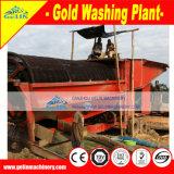 Installatie van de Reductie van de Placer van Benefication de Mobiele Gouden, Machine van de Verwerking van het Zand van de Rivier de Gouden
