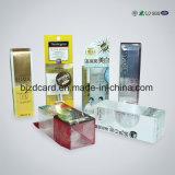 명확한 플라스틱 PVC 주름 접히는 포장 인쇄된 상자 소매