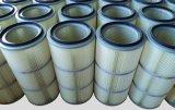 Cartuccia di filtro pieghettata cilindro dalla polvere