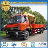Dongfeng 6*4 10는 8 T XCMG 기중기 가격으로 거치된 15 T 트럭을 선회한다