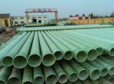 Tubos de agua compuestos del poliester de la resina de epoxy de la fibra de vidrio de FRP GRP Zlrc