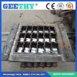 Bloque hueco concreto inmóvil automático del ladrillo de Qty10-15c que hace la máquina