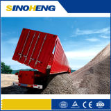 China Factory 60 Tons Dumper Semi Trailer with Front Lifting
