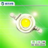 Diodo emissor de luz ao ar livre de Lens Peanut Lens do PC de Lighting High Brightness 130-140lm 1W
