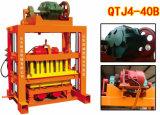 Ручная полая машина блока/делать кирпича (QTJ4-40B)