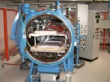 Autoclave Used dans Erospace, Weapons et Electronic Industries