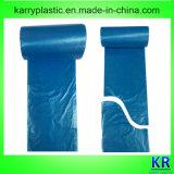 Sac en plastique à HDPE/LDPE, sac d'ordures, sacs de détritus
