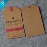Het Document van Kaft van de douane hangt Markering/Kraftpapier hangt Markering