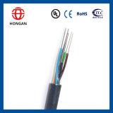 Cable óptico enterrado 216 bases de fibra de la potencia GYTS