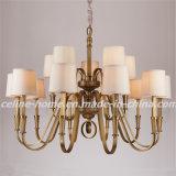 Pendente Lamp do ferro com Fabric Shade (SL2156-5)