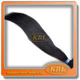 Boa escolha no cabelo brasileiro de Remy do preto de jato