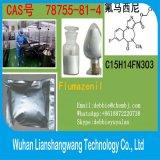 Het Witte Poeder van Flumazenil 78755-81-4 van de Drug van Nootropic voor het Houden Wakker