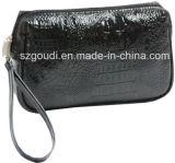 Bolsa cosmética del maquillaje de la manera del recorrido de la promoción linda de la colada con el mitón