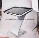 suelo 42inch que coloca el quiosco lleno de la pantalla táctil de la visualización de LED de 3G WiFi HD