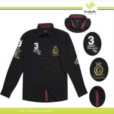 Custom Men High Quality Embroidery Cotton Shirts (S - 32)