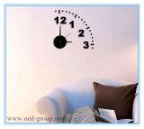 装飾的なAdhesive Wall Clock、Home DecorのためのThe WallのSticker 3D Clock