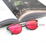 熱い販売はミラーレンズの金属のサングラスをカスタム設計する