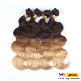 安いGrade 5AインドのHair Ombre Human Hair Weave