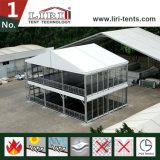 20X60mの贅沢な党のための二階建ての二重デッキの玄関ひさしのテントStrcuture
