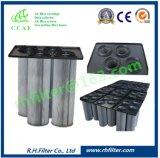 Ccaf плиссировало фильтр с материалом полиэфира противостатическим