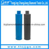 Vakuum hartgelötete Diamantbohrkrone für Granit-Bohrung