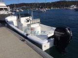 Barco del Panga del barco de pesca de la fibra de vidrio de Liya los 4.2m-7.6m para la venta