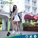 2016 nueva mini vespa eléctrica plegable sin cepillo portable del motor 350W