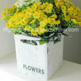 Flowerpot di legno personalizzato del balcone della decorazione della decorazione dell'interno del giardino