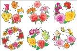 Конструкция Iml цветка плодоовощ шаржа круглой формы, в ярлыке прессформы