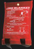 BSCIとPVCの赤いバッグとEn1869 / ASTM F1989規格ファイアーブランケット